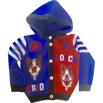 Gucci Blue Wool Knitwear