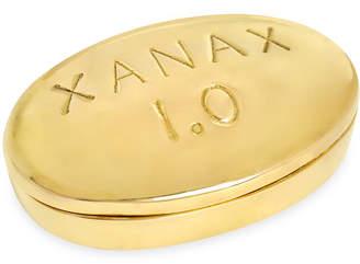 Jonathan Adler Xanax Brass Pill Box
