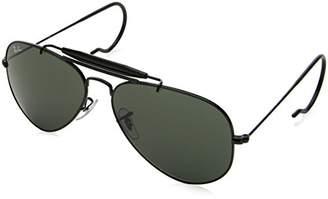 Ray-Ban OUTDOORSMAN - Frame CRYSTAL GREEN Lenses 58mm Non-Polarized