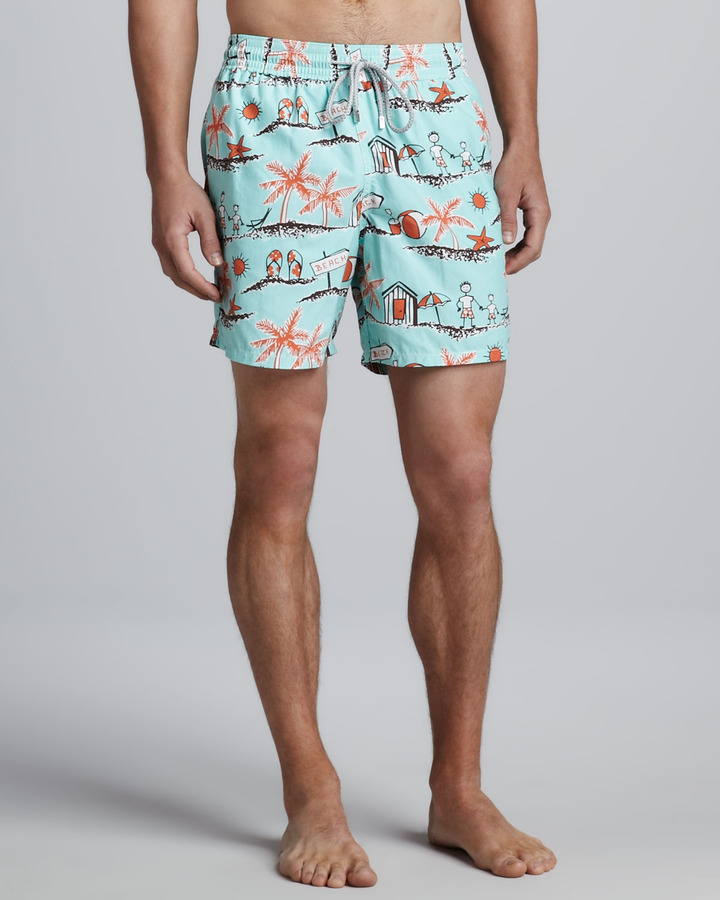 Vilebrequin Father & Son Moorea Swim Trunks