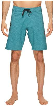 VISSLA The Drainer Four-Way Stretch Boardshorts 18.5 Men's Swimwear