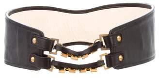 Mayle Leather Waist Belt