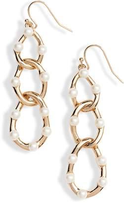 Vince Camuto Multi Link Drop Earrings