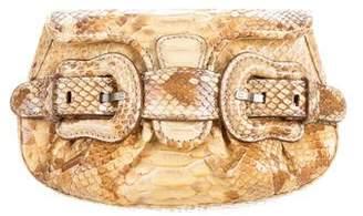 Fendi Python Mini B. Bag