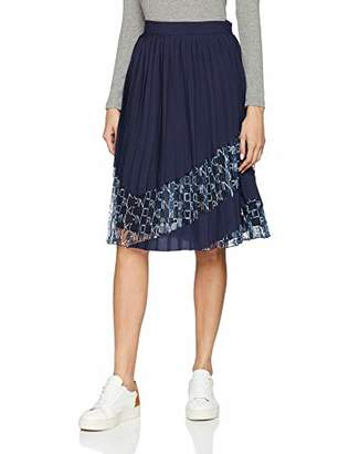 42c4d85fe2 Pinko Women's Immaturo Gonna Pizzo Stampa Logo Skirt Not Applicable,8  (Manufacturer Size: