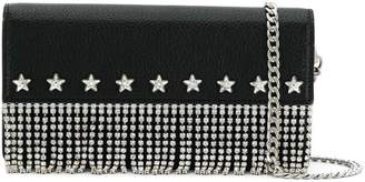 Miu Miu crystal star fringed crossbody