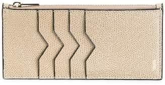 Valextra zip detail card case