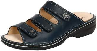 Finn Comfort Womens Menorca Venezia Atlantic Leather Sandals 38 EU