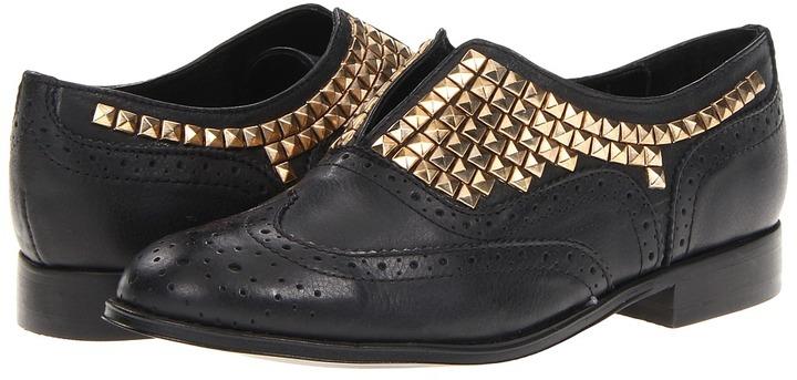 Steve Madden Mercurie (Black Leather) - Footwear