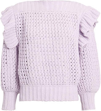 Philosophy di Lorenzo Serafini Ruffle Knit Sweater