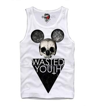 Eleven Paris E1syndicate Tank Top T-Shirt Wasted Youth Hipster Dope Boy