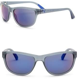 Puma 58mm Round Sunglasses