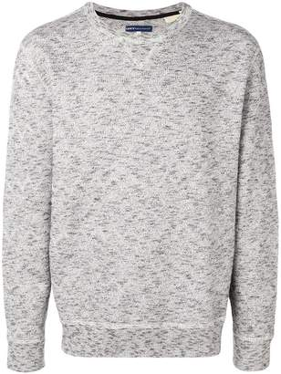 Levi's Made & Crafted zig-zag knit jumper