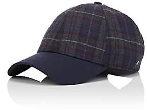 Barneys New York New Era XO Men's Plaid Herringbone Wool-Blend Baseball Hat - Gray