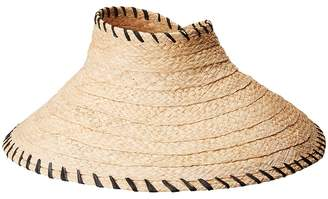 Hat Attack Roll-Up Travel Visor w/ Whipstitch Edge Traditional Hats