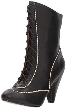 Bettie Page Women's Bp403-renata Ankle Bootie