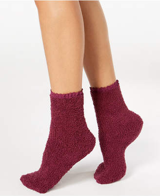 Charter Club Women's Lace-Trim Supersoft Socks