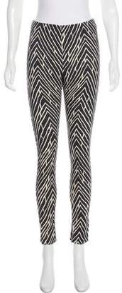 Ungaro Printed Mid-Rise Pants w/ Tags