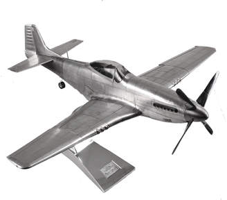 Authentic Models WWII Mustang Model Plane