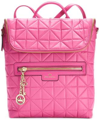 Juicy Couture Crown Jewel Quilted Backpack