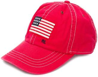 Polo Ralph Lauren logo flag embroidered cap