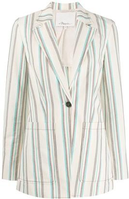 3.1 Phillip Lim Oversized Striped Blazer
