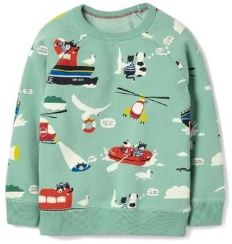 Boy's Mini Boden Coastal Sweatshirt $38 thestylecure.com