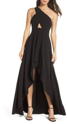 Fame & Partners Zaylee High/Low Gown