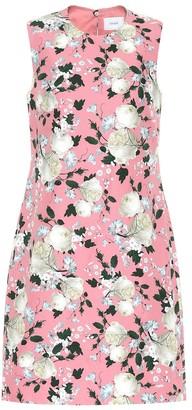 Erdem Rivanna floral cotton minidress