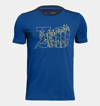 Under Armour Boys' SC30 Long Line T-Shirt