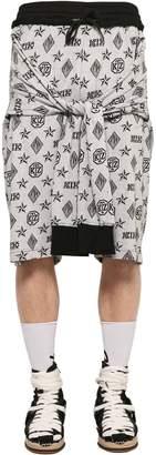 Kokon To Zai Jacquard Shorts With Tied Sleeves