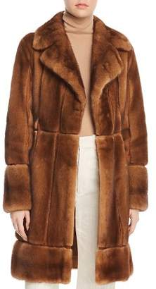 Maximilian Furs x Zac Posen Mink Fur Coat - 100% Exclusive