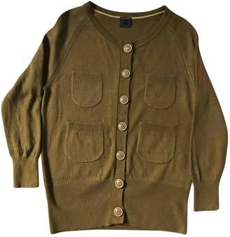 Orla Kiely Green Cashmere Knitwear for Women