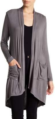 Bobeau Long Sleeve Knit Cardigan (Petite)