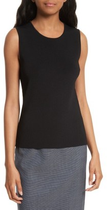 Women's Boss Fedelia Rib Knit Shell $255 thestylecure.com
