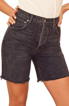 Reformation Allie Cutoff Denim Shorts