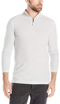 Agave Men's Malone Long Sleeve Half Zip T-Shirt