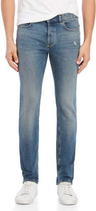 Calvin Klein Jeans Distressed Slim Fit Jeans