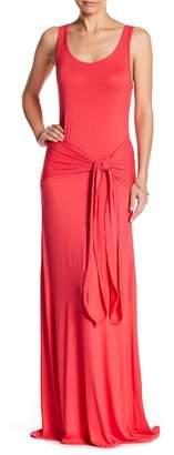 Couture Go Front Tie Waist Modal Dress