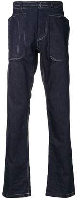 Missoni flared denim trousers