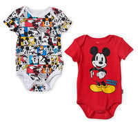 Disney Mickey Mouse Bodysuit Set for Baby - Red