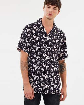 Yang Camp Collar Short Sleeve Shirt