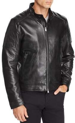 BOSS Getani Leather Jacket
