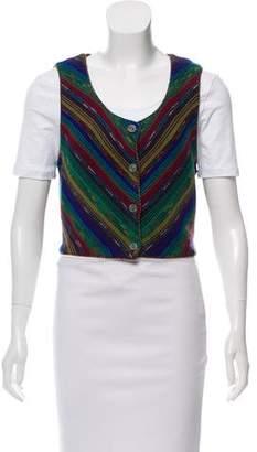 Missoni Striped Crop Vest