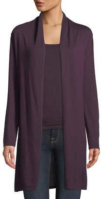 Neiman Marcus Modern Superfine Cashmere Duster Cardigan