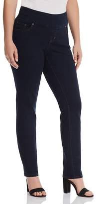 Jag Jeans Plus Nora Skinny Jeans in Indigo