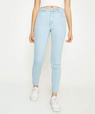 Skinny Jean with Stepped Hem and Shadow Pocket Detail - Sky denim Arrive With Credit Card Cheap Online Outlet Extremely Perfect Buy Cheap Visa Payment DEpBsn7