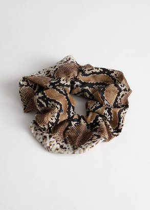 And other stories Snake Scrunchie