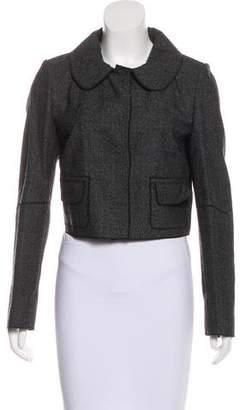 Dolce & Gabbana Wool Cropped Jacket