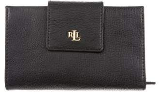 Lauren Ralph Lauren Grained Leather Wallet